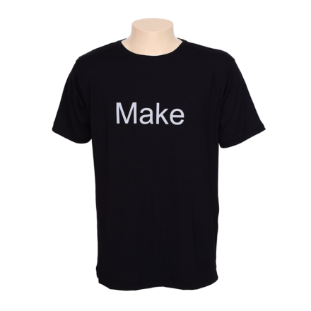 Camiseta Preta Make