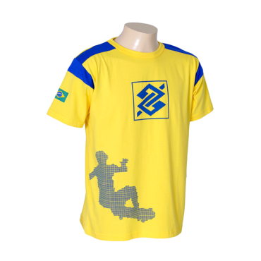 Camiseta Promocional Banco do Brasil