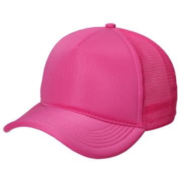 Boné Trucker pink liso