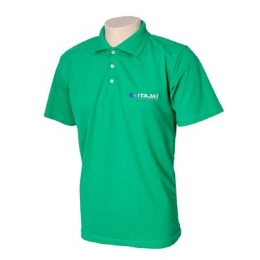 Camiseta Gola Polo Verde