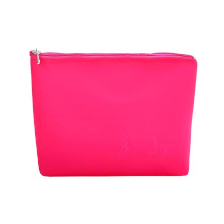 Necessaire Silicone Pink Grande