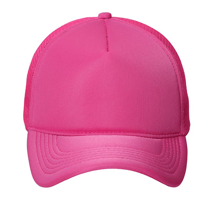 Boné Trucker pink liso  3d353bac8ab